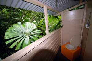 toilet of this daintree accommodation
