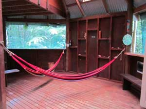 hammocks in  your daintree accommodation