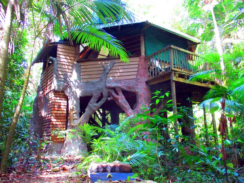 Daintree accommodation with a unique difference, glamping in the rain forest